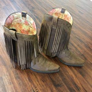 Women's Ariat Fringe boots